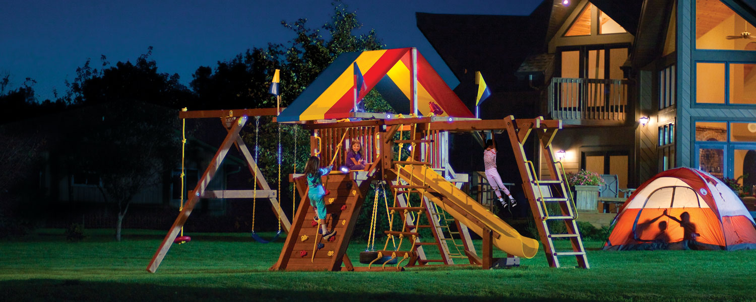 Rainbow Play Systems, Inc. Night Shot