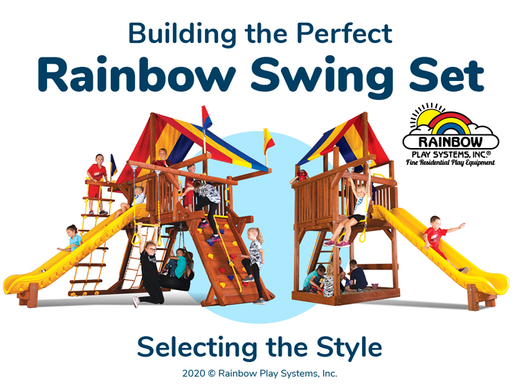 Building the Perfect Rainbow Swing Set