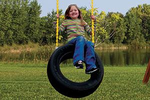 2 Chain Tire Swing