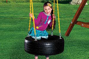 4 Chain Tire Swing