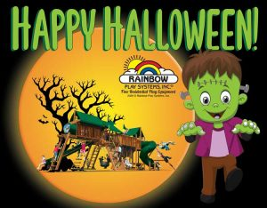 Happy Halloween from Rainbow Play Systems