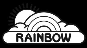Rainbow Play Pumpkin Stencil