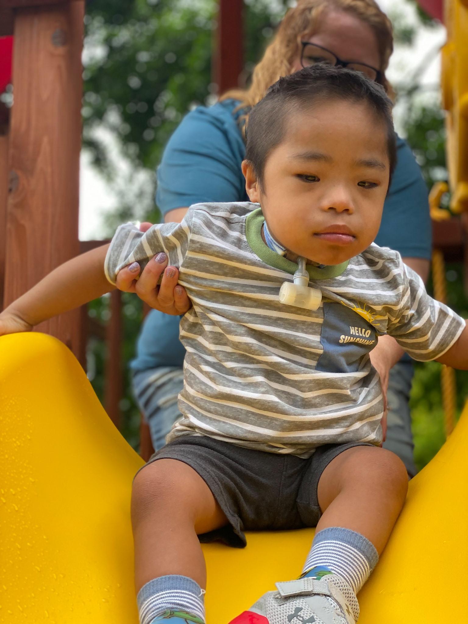 Jaxon Make a Wish - Backyard Playworld