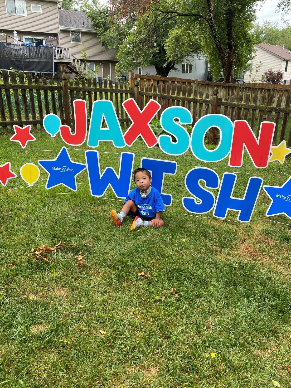 Jaxon Make a Wish - Backyard Playworld