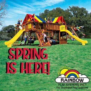 spring swing set maintenance