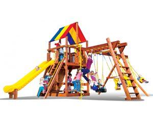 Rainbow Play swing sets